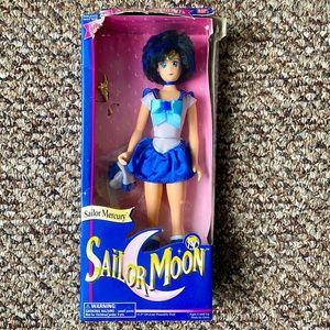 NWT Sailor Mercury Deluxe Adventure Doll 1995 VNTG